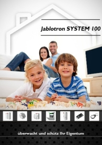 PRO100 Prospekt Jablotron SYSTEM 100