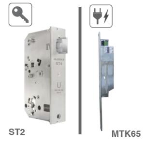 ST2 Mechanisches Gartentor-Automatikschloss für Lineartüröffner  MTK65