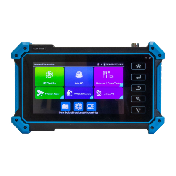 ATM-500IP Testmonitor mit 5-IPS-Touchscreen in FullHD