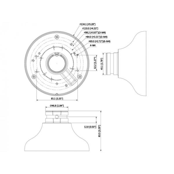 LHA6 Adapter für Domekameras