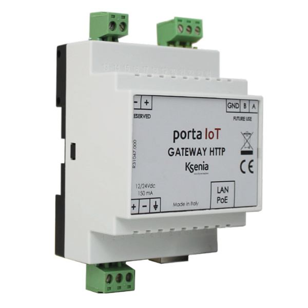 bidirektionales http-Gateway porta-IoT, lares 4.0 System