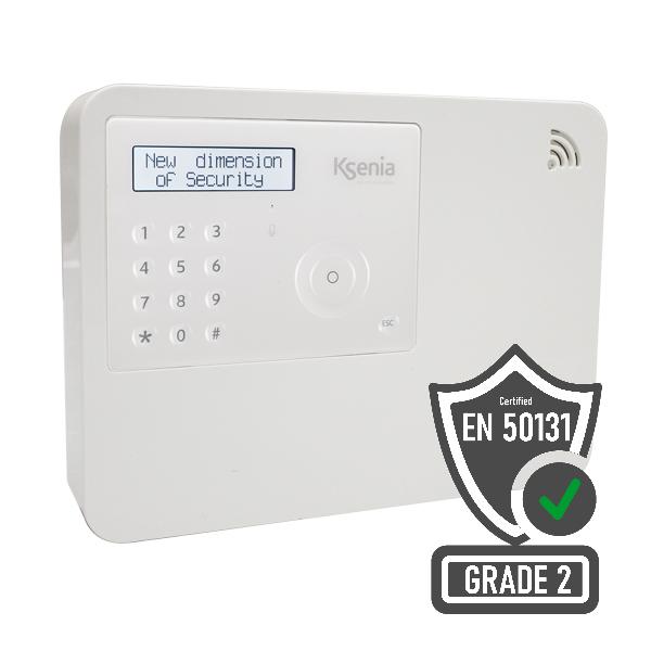 Zentralen-Kit 96wls-4G/LTE mit Bedienteil, lares 4.0 System