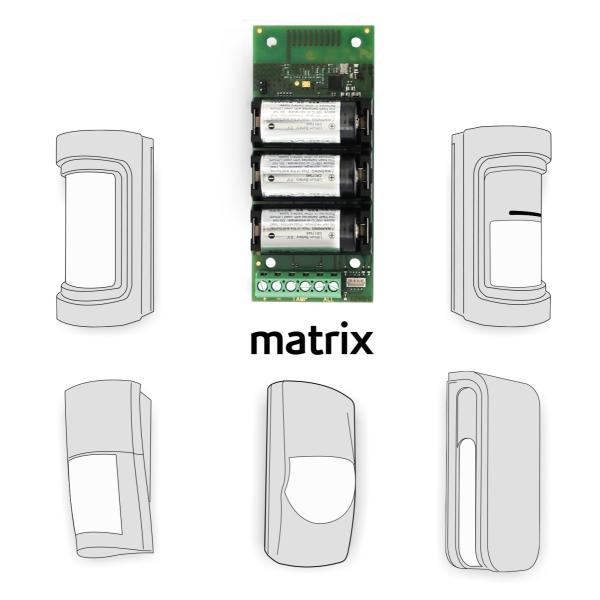 Universal-/Optex Funkschnittstelle matrix, lares 4.0 System