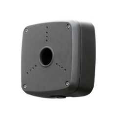 LAB6D Anschlußbox weiß 3-Loch, IP66 anthrazit