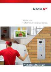 lunaIP Türsprechanlagen-Katalog zum Blättern