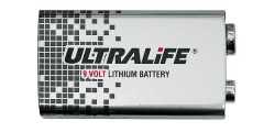 U9VL   ULTRALIFE Typ U9VL Block-Batterie