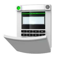 114E   SYSTEM 100 Bus-Bedienteil LCD