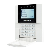 110EMB SYSTEM 100 Bus-Bedienteil LCD, Metall-Brush-Optik